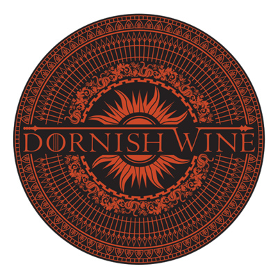 Dornish Wine - Game of Thrones logo