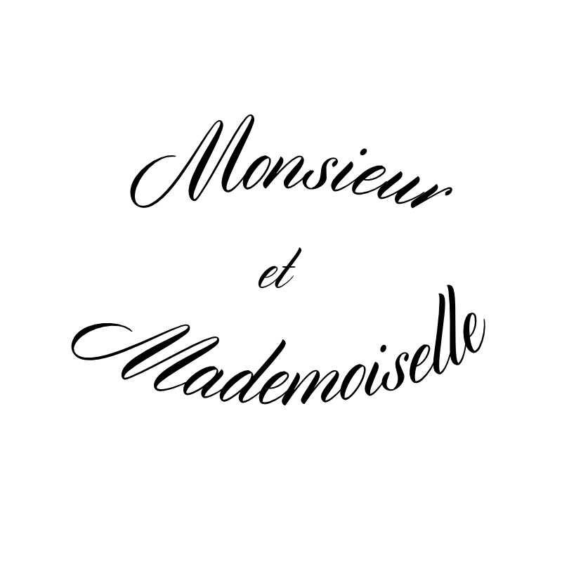 Monsieur et Mademoiselle logo